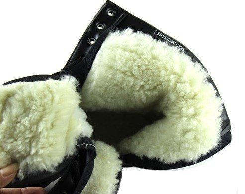 Ботинки зимние натуральный мех